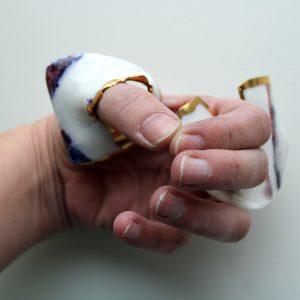 Meike Janssens - TouchSkin - porcelain art