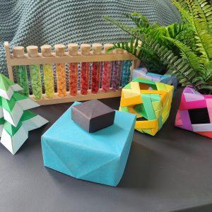 workshop origami en porselein - authentiek kerst