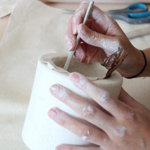 workshop keramiek en porselein Gent - keramiek workshop