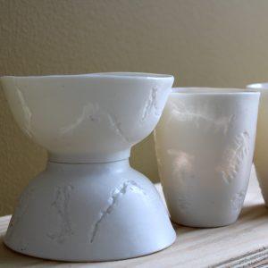 Sidonie V. - handgemaakt porselein België