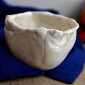 Heerlijk kunstzinnig resultaat tijdens de workshop porselein