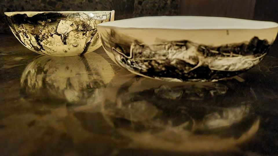 Meike Janssens - handgemaakt porselein servies