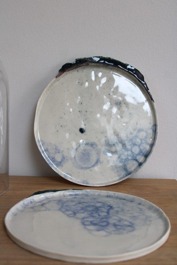 twee kunstige borden - Meike Janssens
